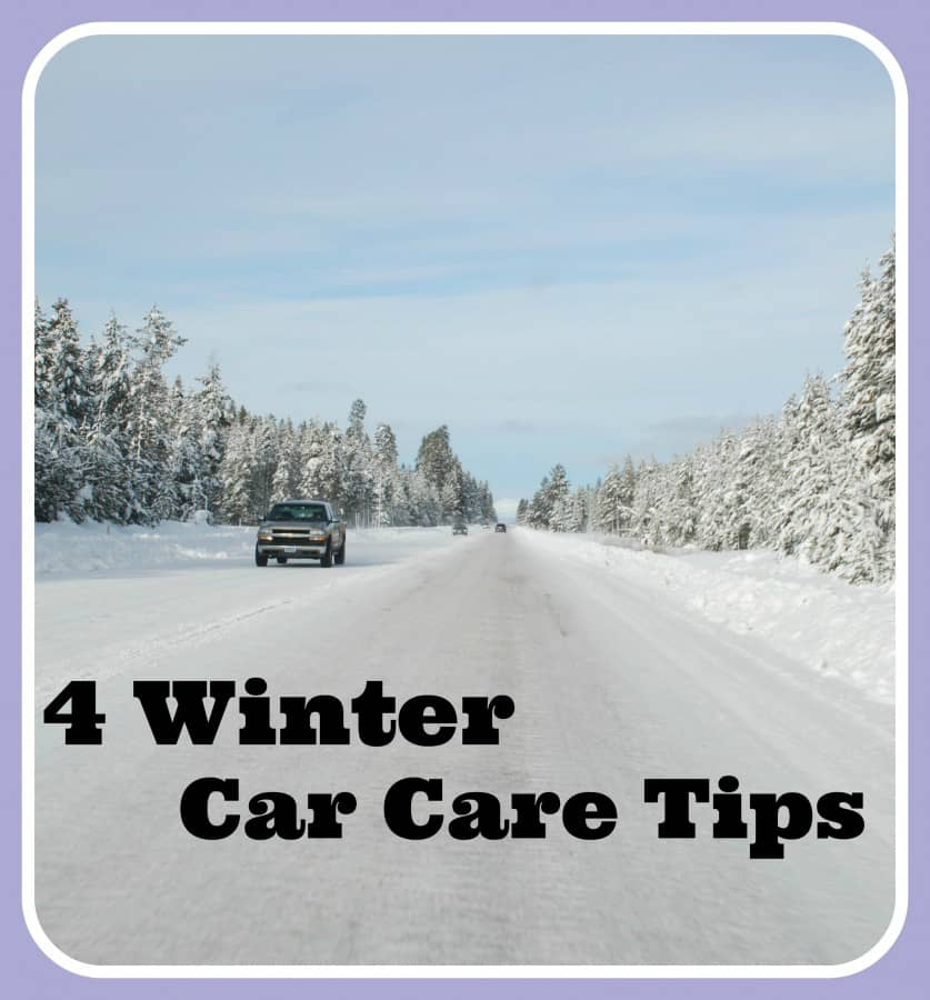 4 winter car care tips farmer 39 s wife rambles. Black Bedroom Furniture Sets. Home Design Ideas