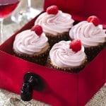 Rose Wine Cupcakes