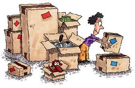 cartoon moving boxes