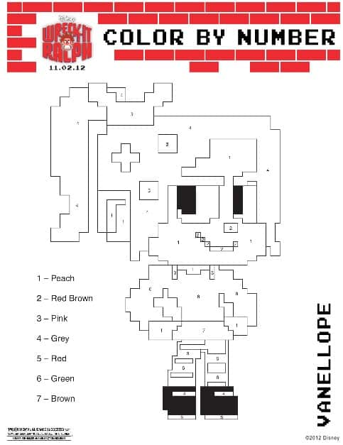 Printable Wreck It Ralph