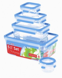 Emsa Clip & Close Storage Containers