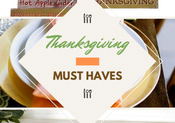 Each family is different and will have the various items and dishes that are Thanksgiving must-haves for their get together.