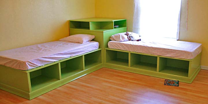 Why You Should Go For Beds With Storage For Your Twins