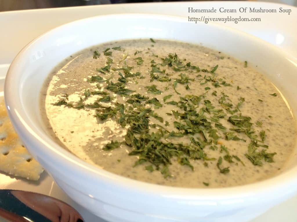 Get Cooking With Homemade Cream Of Mushroom Soup
