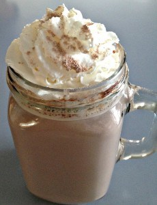 Decadent and smooth homemade hot chocolate