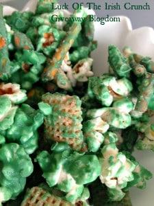 Snack recipe for St. Patricks Day