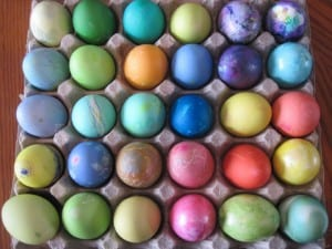 April's Easter Eggs