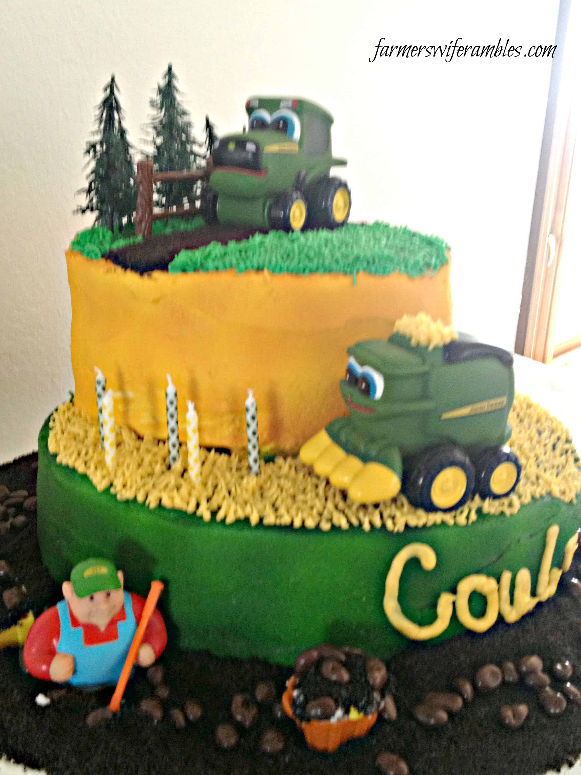 Fantastic Coulters John Deere 5Th Birthday Cake Wm Farmers Wife Rambles Funny Birthday Cards Online Elaedamsfinfo