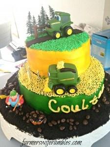 Coulter's John Deere Cake WM