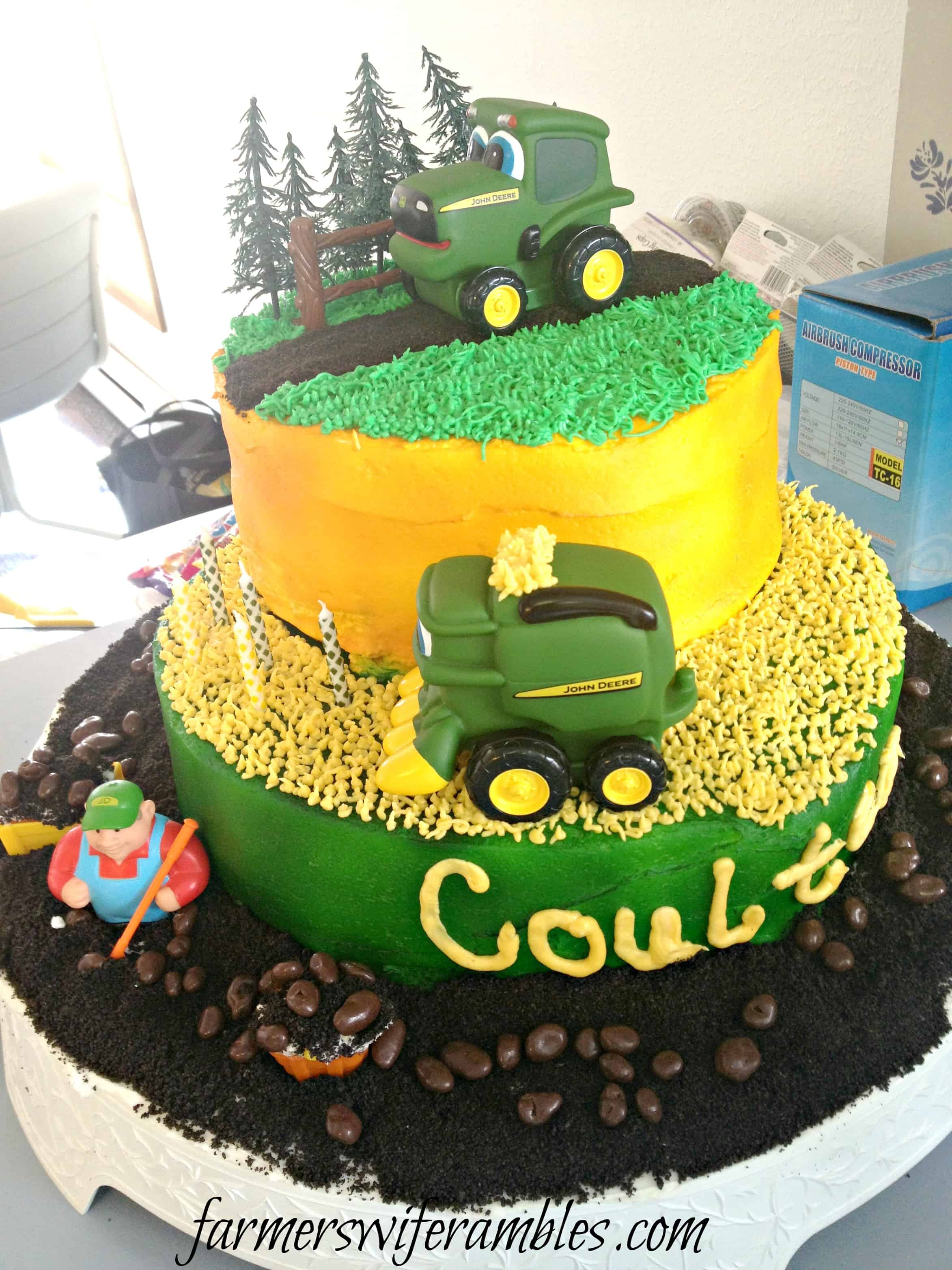 Amazing Phone Dump Friday John Deere Birthday Cake Farmers Wife Rambles Funny Birthday Cards Online Elaedamsfinfo
