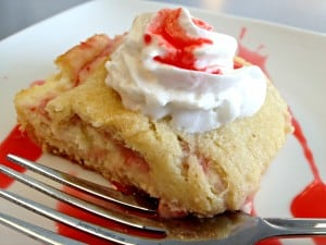 Strawberry Cream Cheese Crescent Bars WM