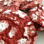 Red Velvet Crinkle Cookie Recipe