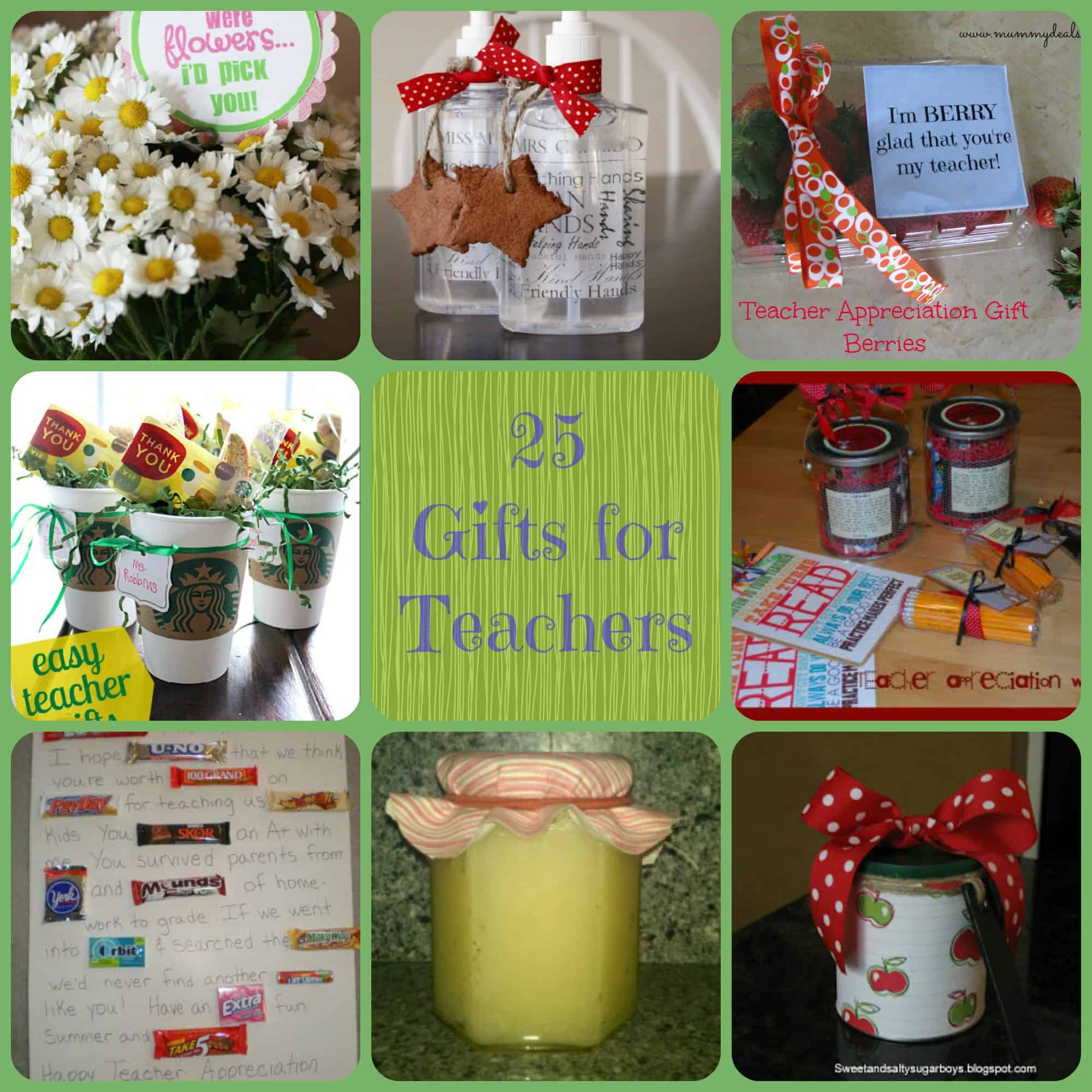 25 Gift Ideas For Teachers