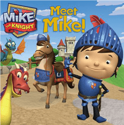Mike The Knight Book With Stickers