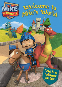 Mike The Knight Coloring Book