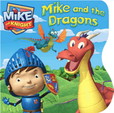 Mike the knight Board book
