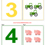 0-9 Free Printable Counting Cutouts