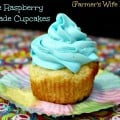 Blue Raspberry Lemonade Cupcake Recipe