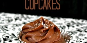 Dark Chocolate Salted Caramel Cupcake Recipe