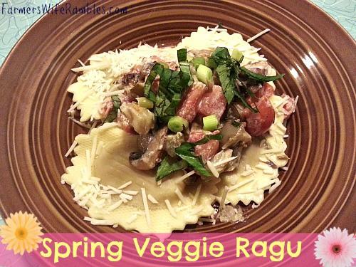 Spring Veggie Ragu Main
