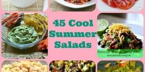 45 Cool Summer Salad Recipes