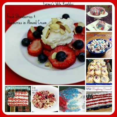 Patriotic Recipes Collage