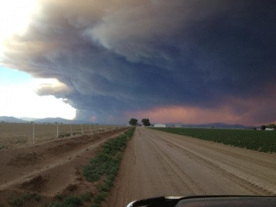 West Fork Fire June 2013