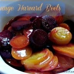 Orange Harvard Beets Recipe