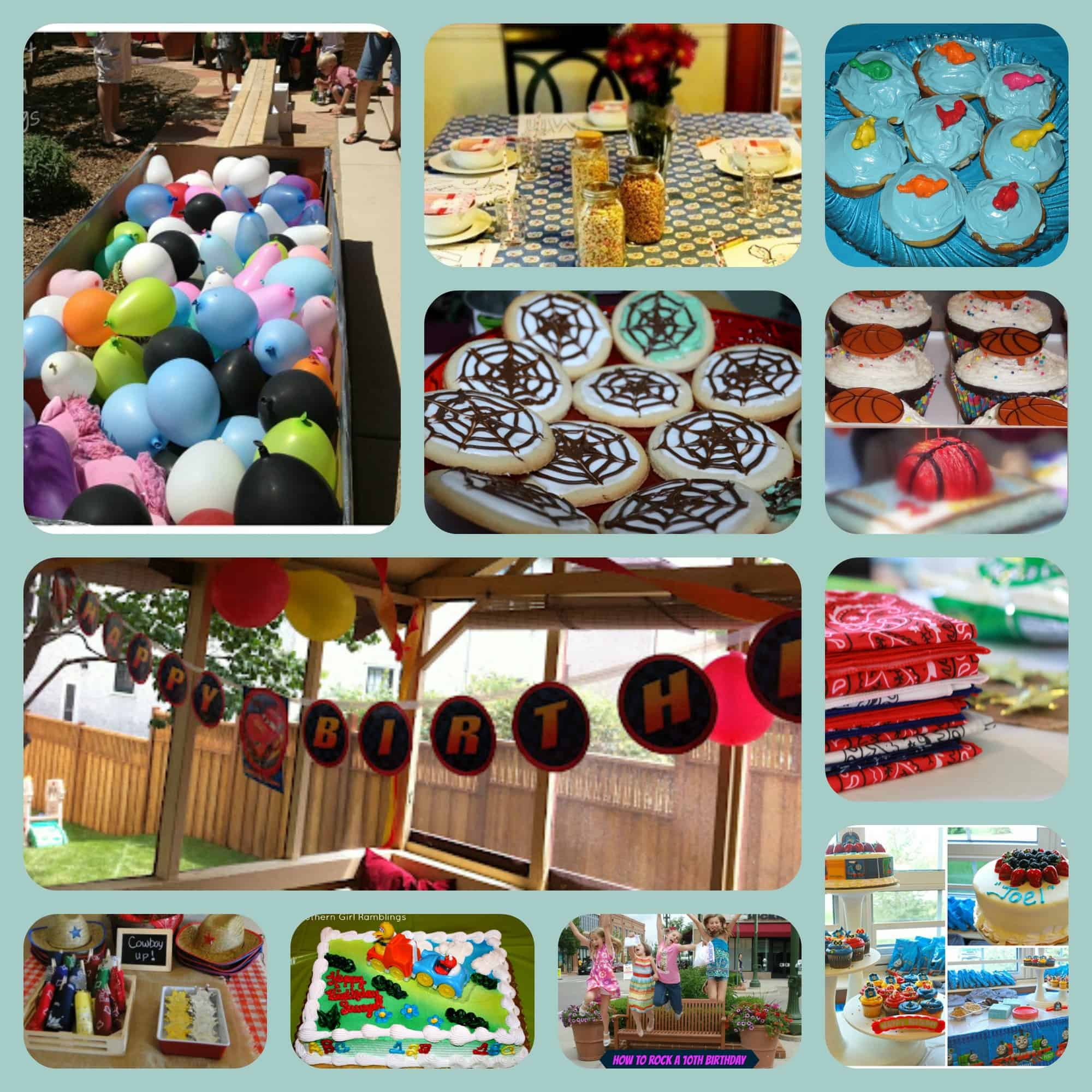 40+ Birthday Party Themes, Ideas, Tutorials and Printables
