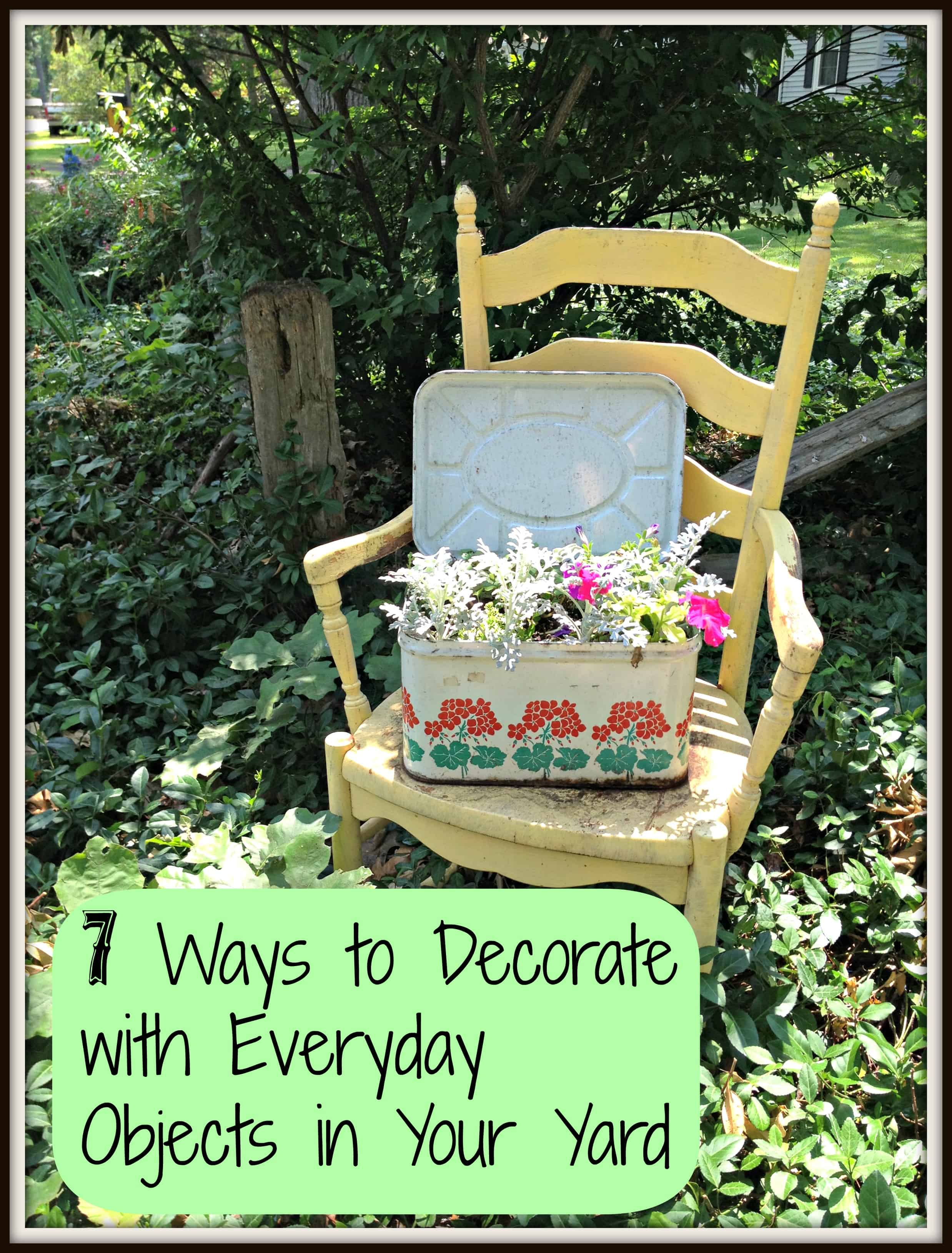 bringing the indoors out how to decorate your yard with