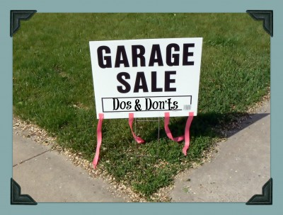 Garage Sale Dos & Don'ts Final
