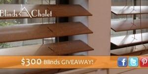 blinds chalet prize
