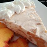 4 Ingredient Frozen Peach Pie