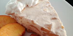 Frozen Peach Pie