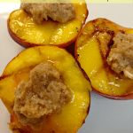 The Most Delicious Grilled Peaches With Honey Butter
