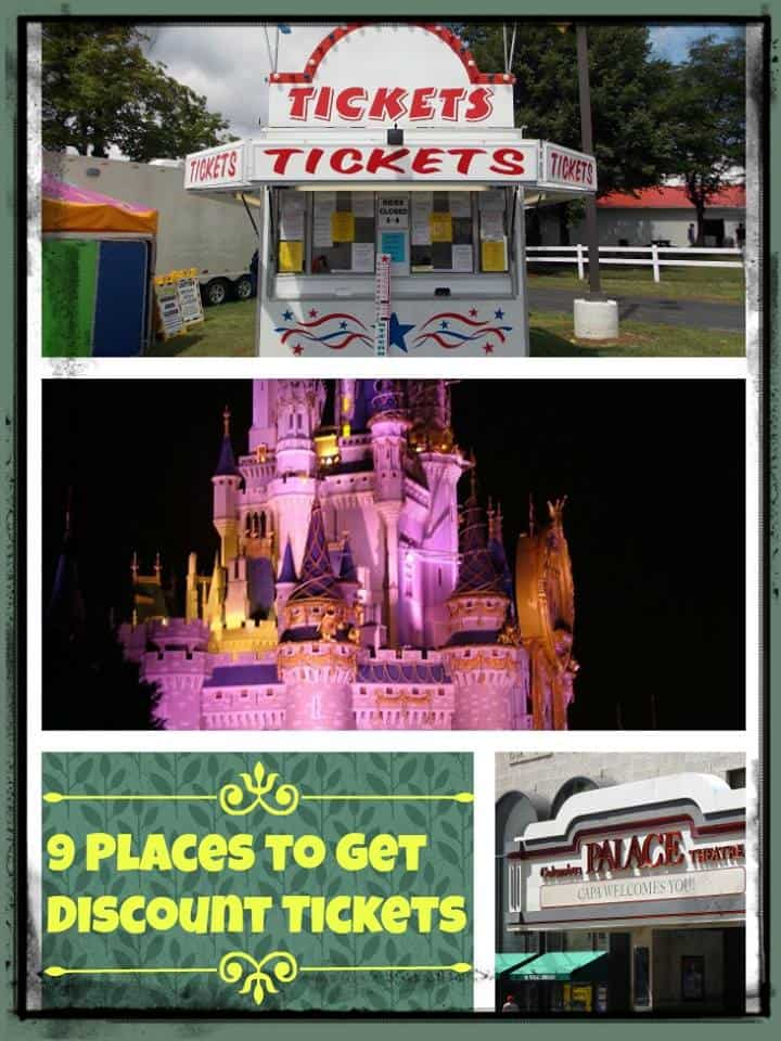 9 Places To Get Discount Tickets Image
