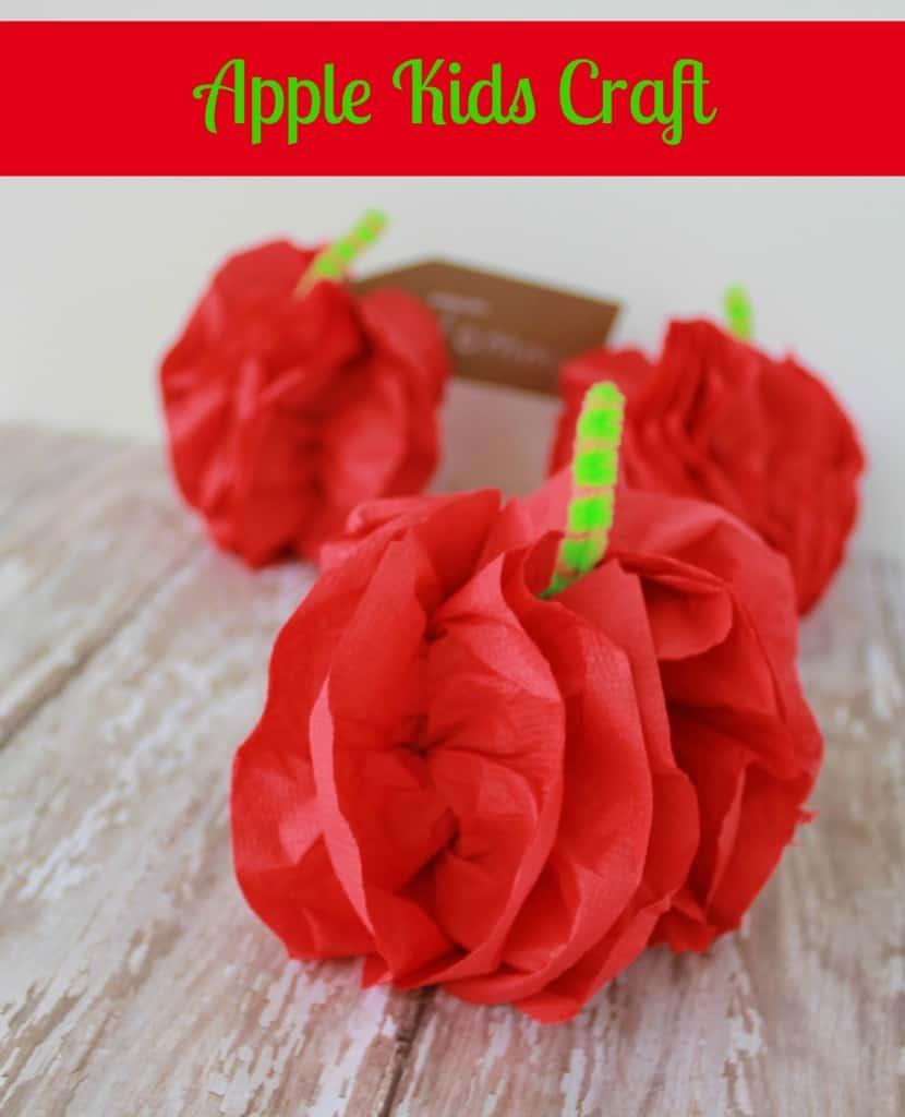 Apple Kids Craft