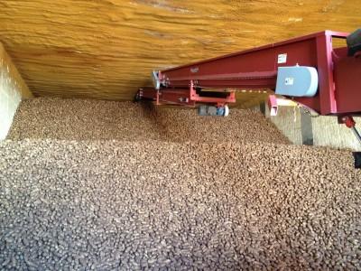Colorado Potato Harvest 2013 Bins