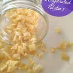How To Make Your Own Dehydrated Potatoes ~ Fresh Potatoes All Year Long