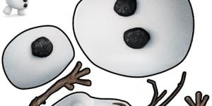 Free Frozen Olaf Cutout Printable