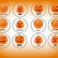 Pumpkin Halloween Cupcake Toppers