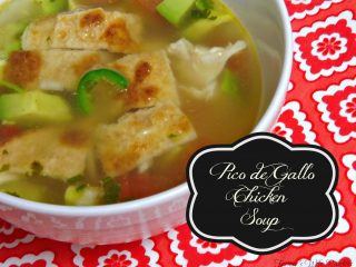 Pico de Gallo Chicken Soup Recipe