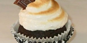 S'Mores Cupcakes with Toasted Marshmallow Frosting From Modern Christian Homemaker