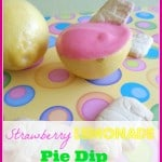 Strawberry Lemonade Pie Dip