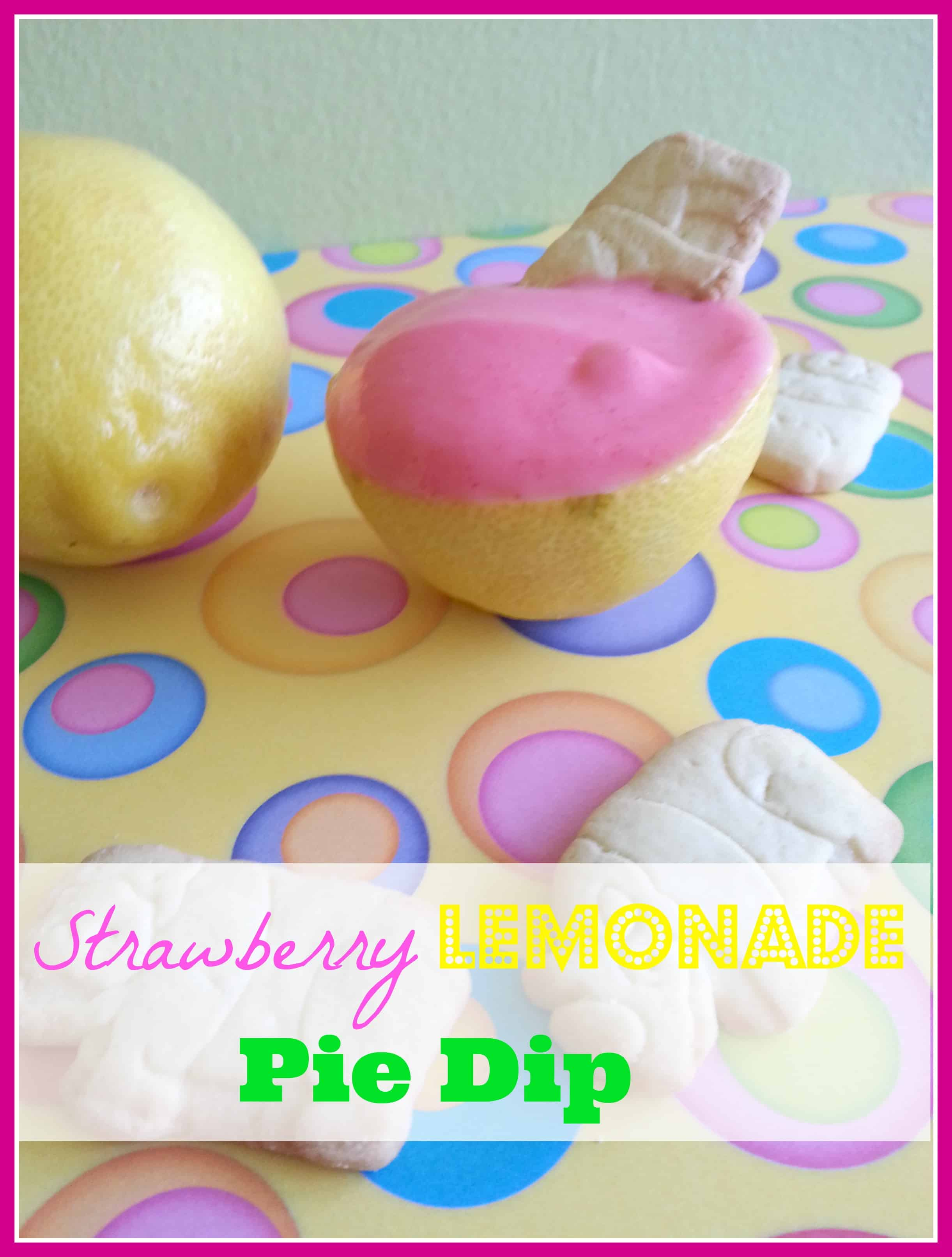 Strawberry Lemonade Pie Dip