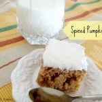 Spiced Pumpkin Cake ~ Fall Is Officially Here