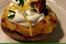 Twice Baked Loaded Potatoes From This Lady Blogs
