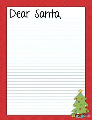 Pics Photos - Dear Santa Letter Love 2013 Message