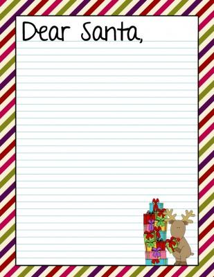 5 Free Dear Santa Letter Printables - Farmer'S Wife Rambles