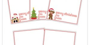 Mini Treat Christmas Cards + 7 Different Uses